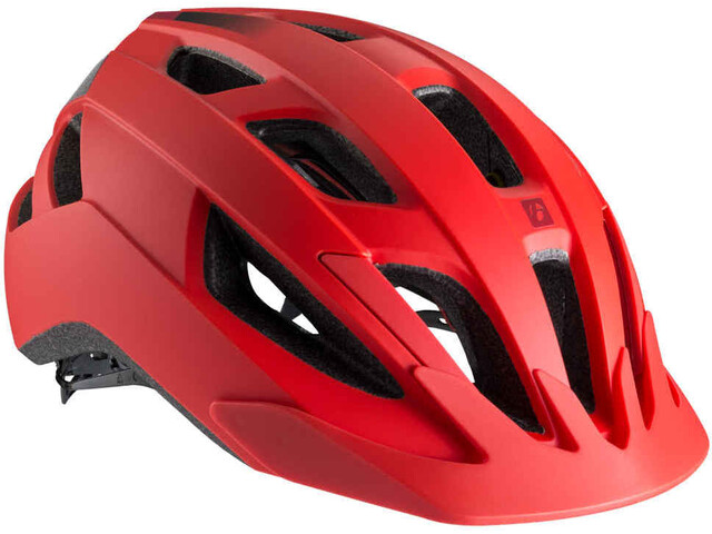 Bontrager Solstice MIPS CE Miehet Pyöräilykypärä , punainen